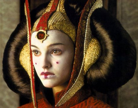 Queen Amidala in Star Wars Episode IV